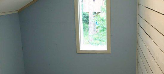 VH1:ssä ikkunalistat paikoillaan...